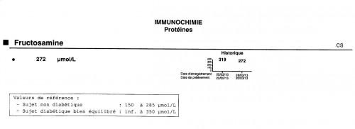 fructosamines,protéines glyquées,diabète,glycémie